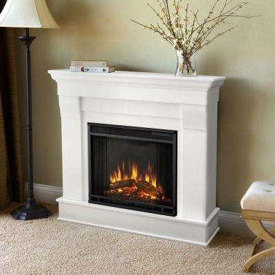 Chateau 41 in. Electric Fireplace in White
