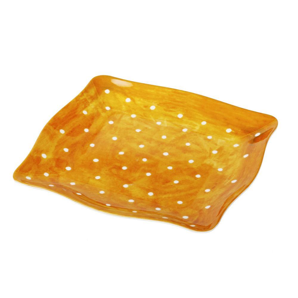 Pallini Yellow Salad Plate (Set of 4)