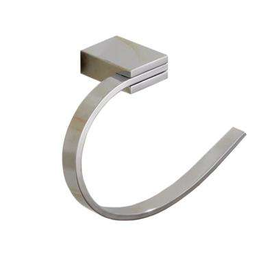 General Hotel Wall Mounted Towel Ring in Chrome