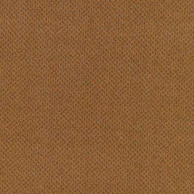 Carpet Sample - Market Share - Color Cottage Clay Pattern 8 in. x 8 in.