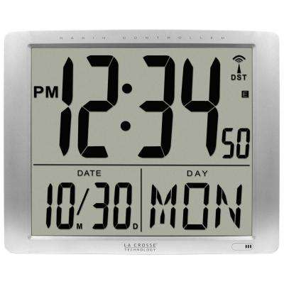 16 in. x 20 in. Super Large Atomic Digital Wall Clock