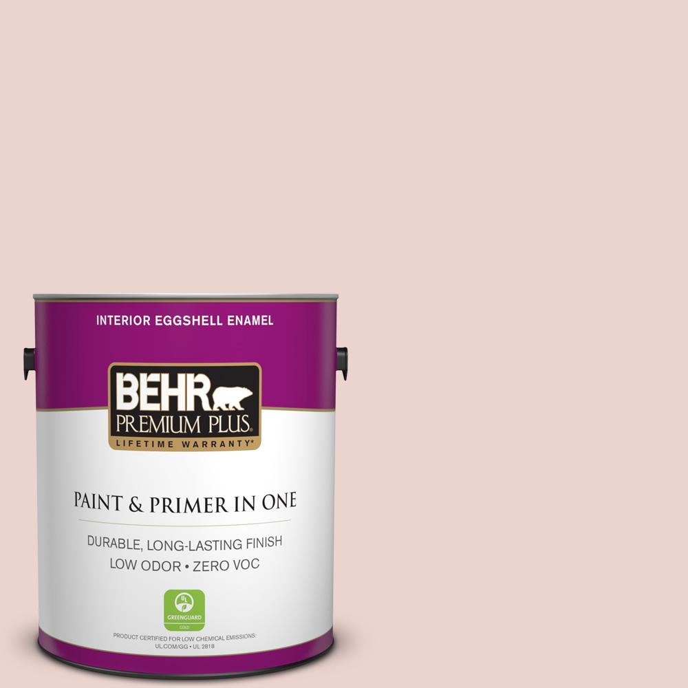 BEHR Premium Plus 1-gal. #S170-1 Ole Pink Eggshell Enamel Interior Paint