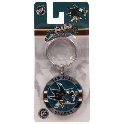 NHL San Jose Sharks Key Chain (3-Pack)
