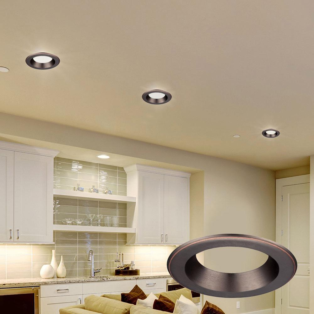 Bronze Trim Ring For Led Recessed Light
