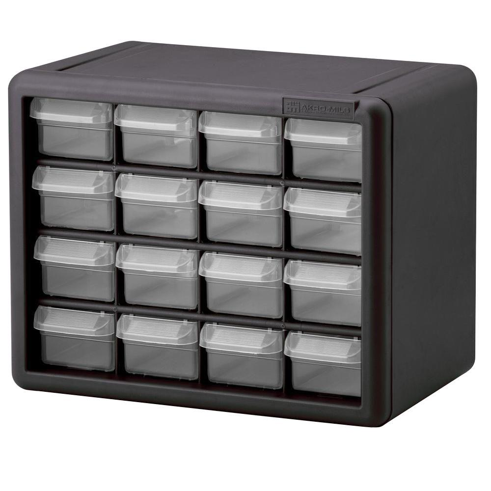 16 Drawer Small Parts Storage Cabinet