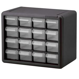 Akro-Mils 64-Compartment Small Parts Organizer Cabinet-10164 - The ...
