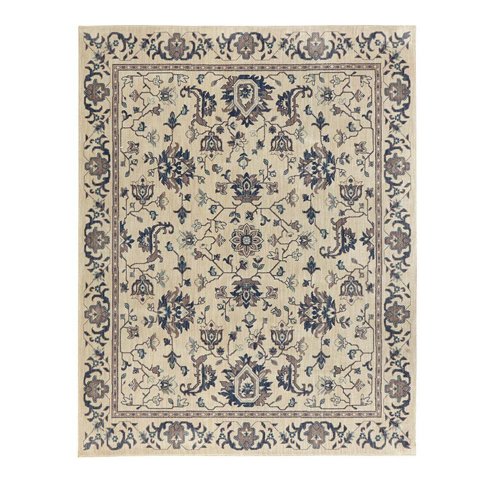 Jackson Blue Ivory 8 ft. x 10 ft. Area Rug