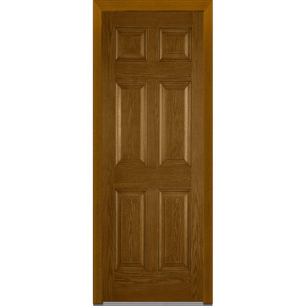 MMI Door 36 In X 96 Right Hand Inswing 6 Panel