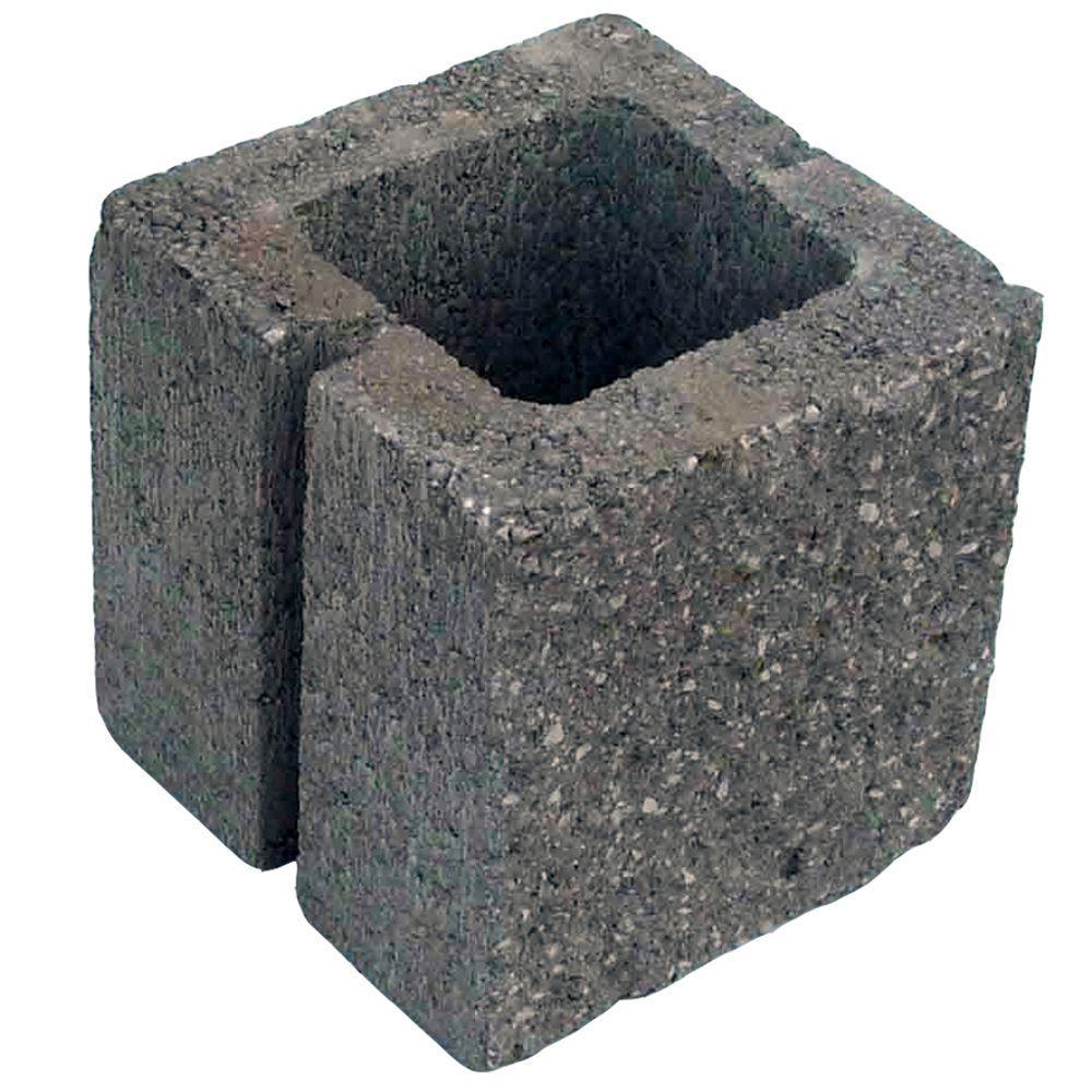 8 in x 8 in x 8 in split face concrete block for Split face block house