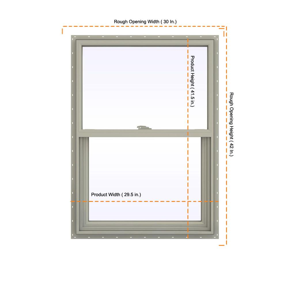decorative windows for bathrooms frosted vinyl for.htm jeld wen 29 5 in x 41 5 in v 2500 series desert sand vinyl  jeld wen 29 5 in x 41 5 in v 2500