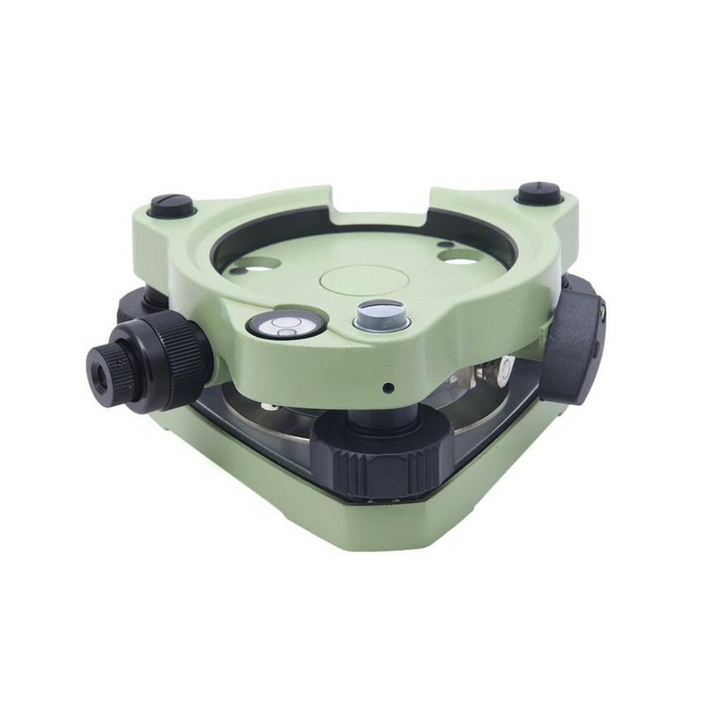 Twist Focus Green Tribrach with Optical Plummet