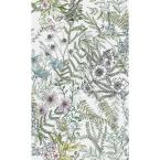 Full Bloom Off-White Floral Paper Strippable Roll (Covers 56.4 sq. ft.)