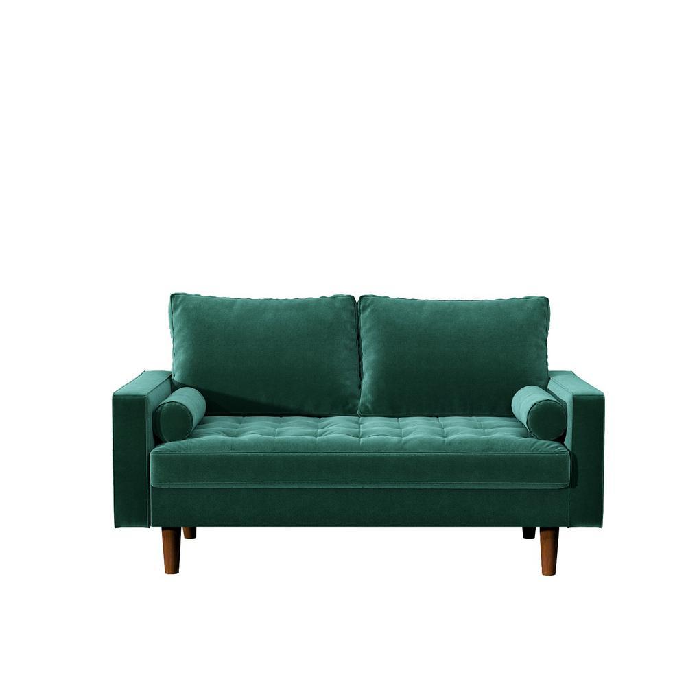 Green Civa velvet Loveseat