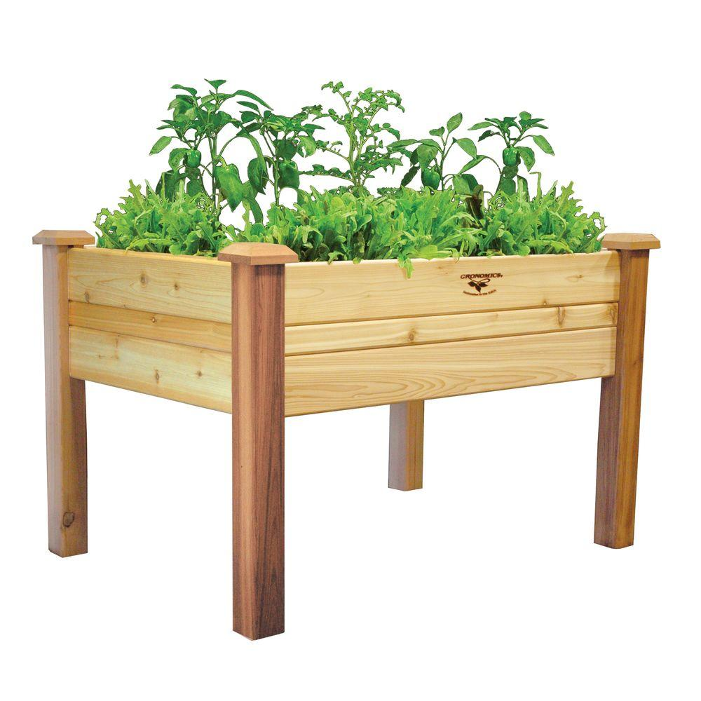 Gronomics 34 In. X 48 In. X 32 In. Elevated Garden Bed