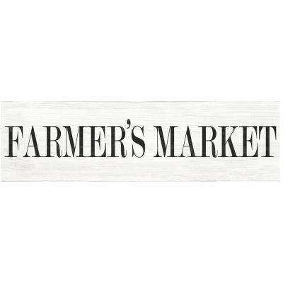 Off-White Farmer's Market Wall Quote Decal