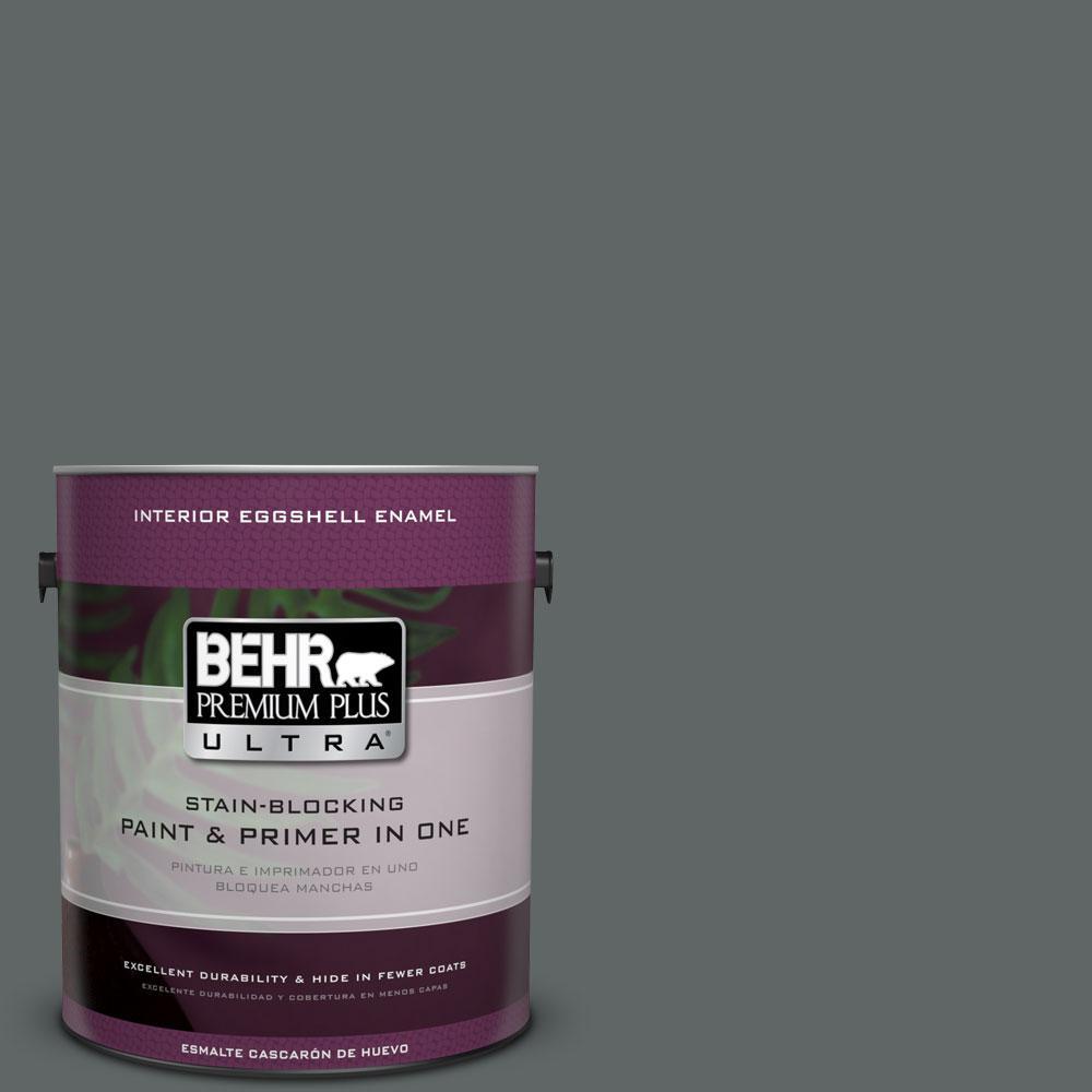 BEHR Premium Plus Ultra Home Decorators Collection 1-gal. #HDC-MD-28 Cordite Eggshell Enamel Interior Paint