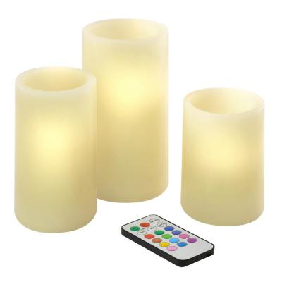3 Fragrance Candles Home Decor The Home Depot