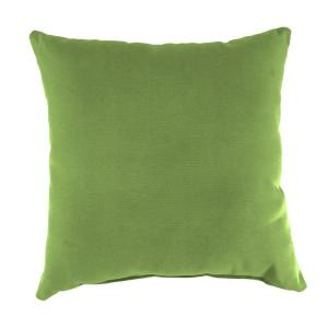 Sunbrella Canvas Gingko Square Outdoor Throw Pillow