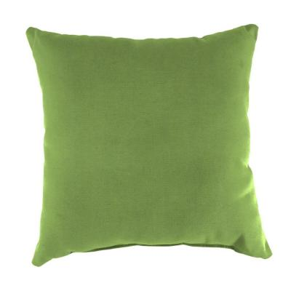 Sunbrella Canvas Gingko Square Outdoor Throw Pillow