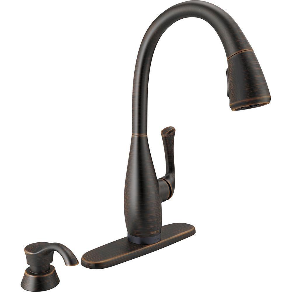 Delta Leland Kitchen Faucet Venetian Bronze – Hum Home Review
