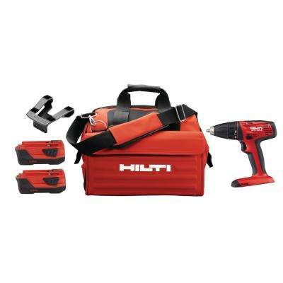 SFC 22-Volt Advanced Compact Battery Cordless 1/2 in.  Chuck Drill Driver with Tool Bag
