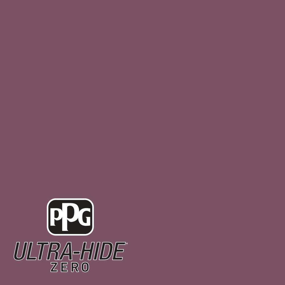 PPG 1 gal. #HDPR13U Ultra-Hide Zero Currant Berry Satin Interior Paint