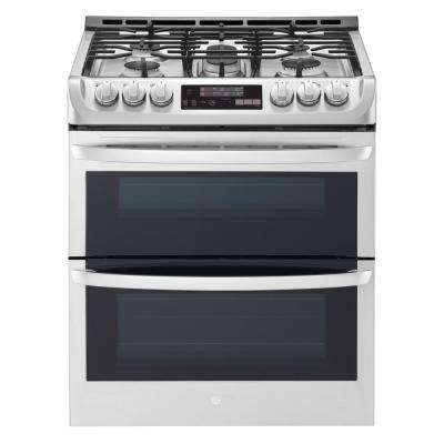 Delicieux Smart Double Oven Slide In Gas Range With ProBake Convection And ...