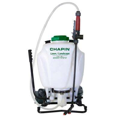 4 Gal. Lawn and Landscape Pro Backpack Sprayer with Control Flow Technology 61813
