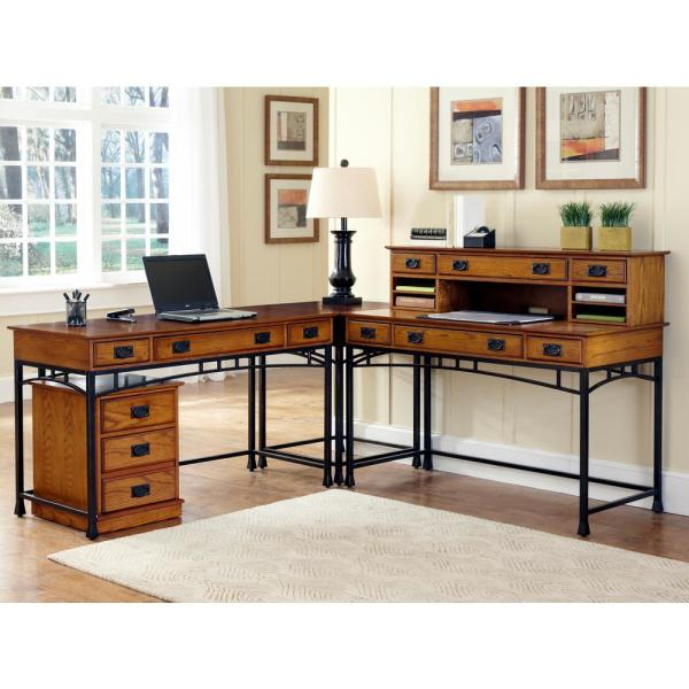 Craftsman Kitchen Oak Cabinets: Home Styles Modern Craftsman Distressed Oak File Cabinet