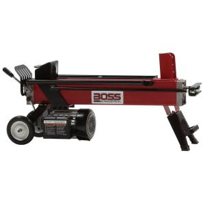 Click here to buy Boss Industrial EC5T20 5-Ton 12 Amp Electric Log Splitter by Boss Industrial.