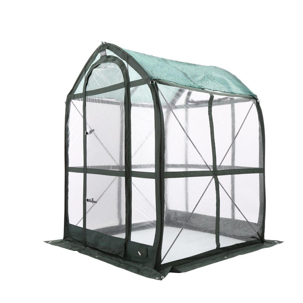 Portable Greenhouse With Heat : Flowerhouse planthouse ft pop up greenhouse