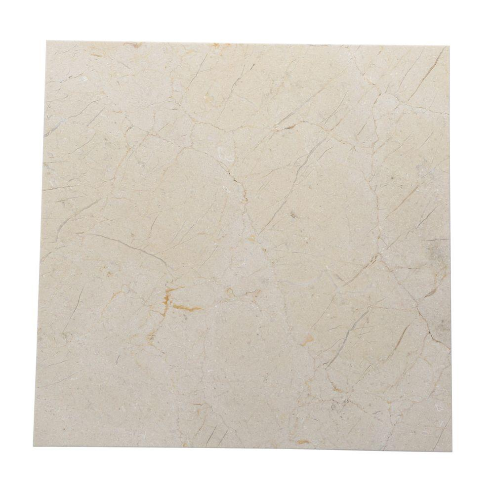 Daltile Natural Stone Collection Crema Marfil 12 In X 12