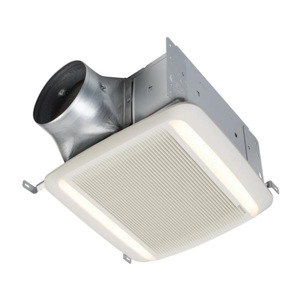 QTDC Series 110 CFM-150 CFM Bathroom Exhaust Fan with LED, ENERGY STAR