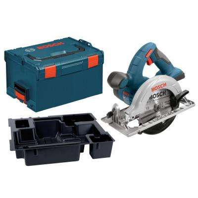 18-Volt Lithium-Ion 6-1/2 in. Circular Saw with Insert Tray for L-Boxx-3 (Tool-Only)