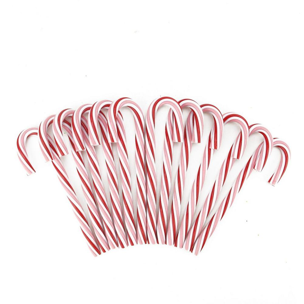 northlight peppermint twist pink white and red candy cane christmas