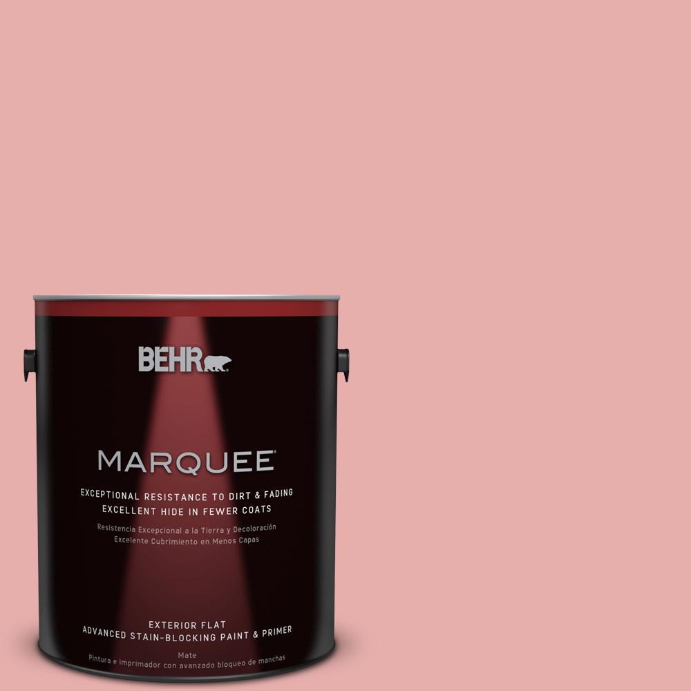 BEHR MARQUEE 1-gal. #160C-3 Rose Silk Flat Exterior Paint
