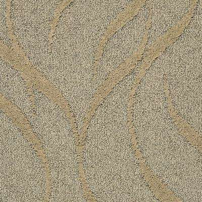 Carpet Sample - Framed Artwork - Color Golden Pecan Pattern 8 in. x 8 in.