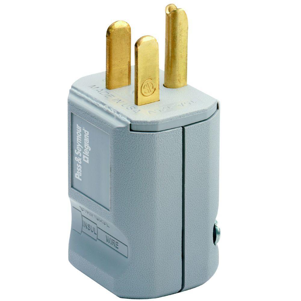 15-Amp 125-Volt Grip Plug