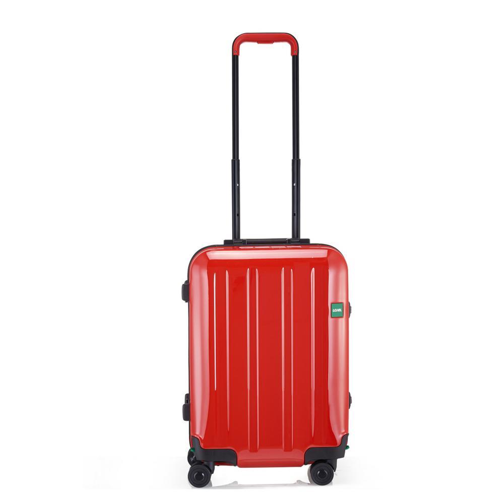 Novigo 21.7 in. Passion Red Hardside Spinner Suitcase