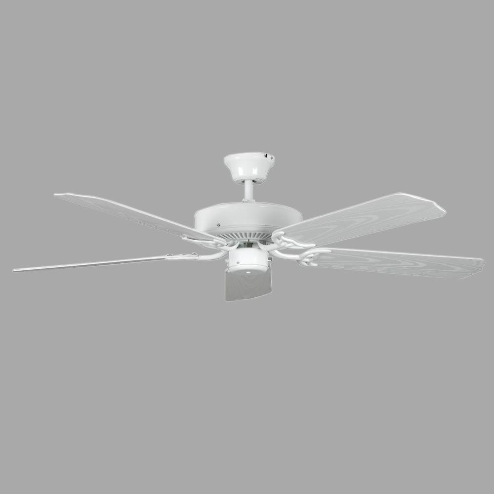 Concord porch 52 in white ceiling fan 52por5wh the home depot concord porch 52 in white ceiling fan swarovskicordoba Images