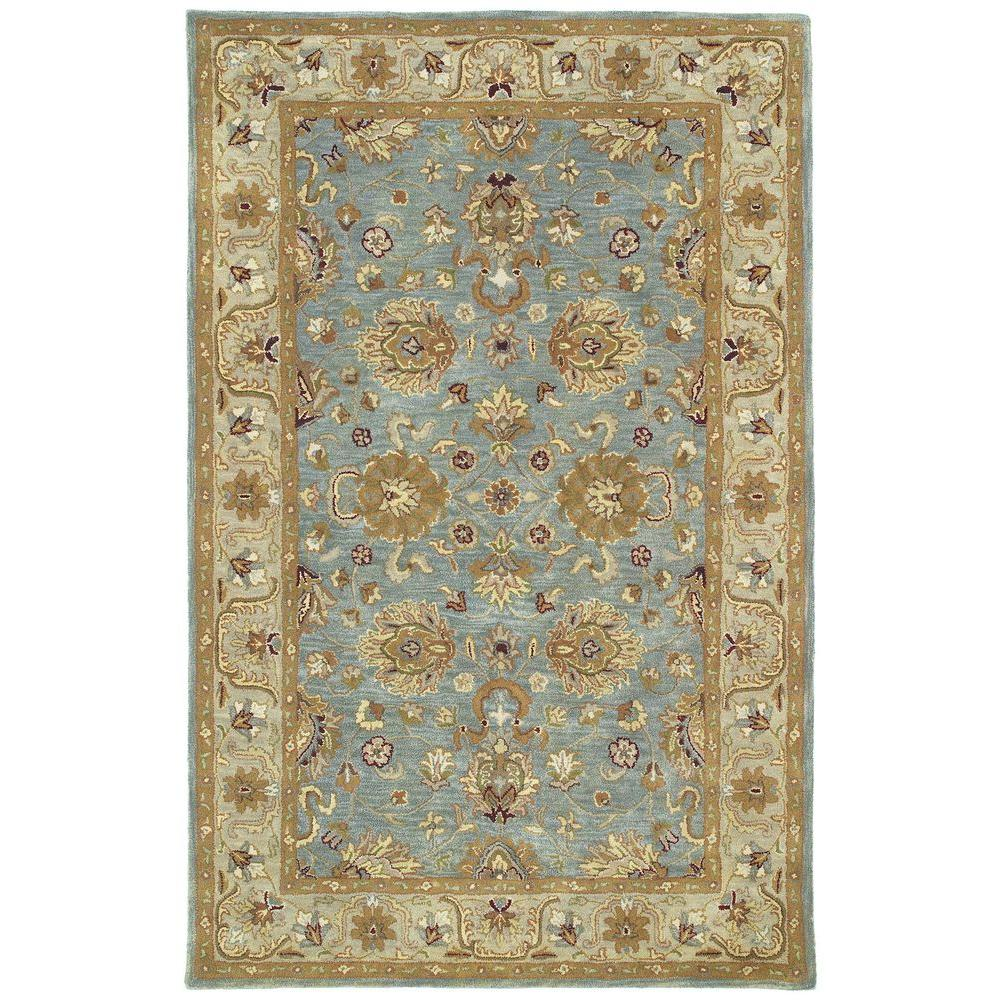 Kaleen Mystic Agean Spa 9 ft. 6 in. x 13 ft. Area Rug