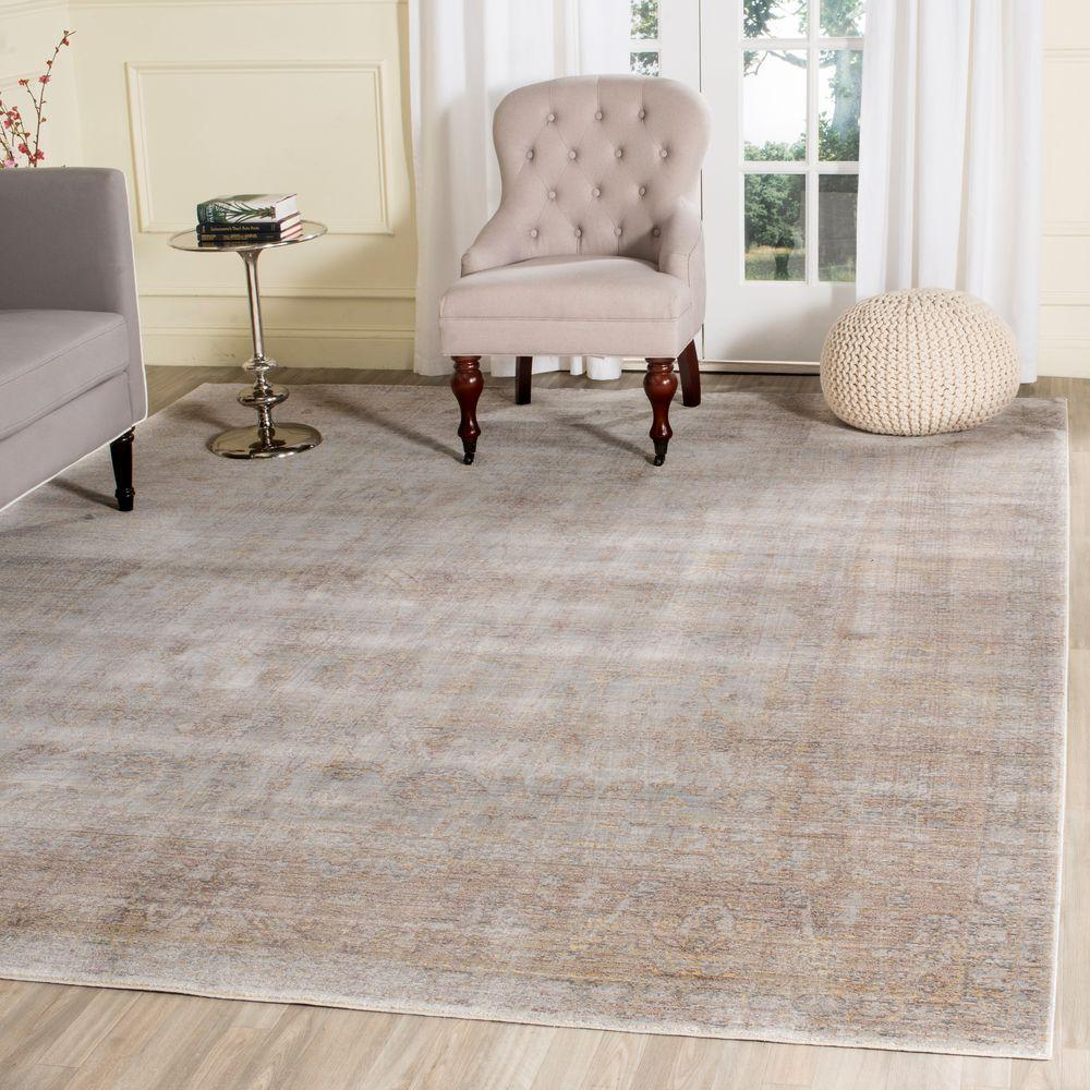 Safavieh Valencia Grey Multi 8 Ft X 10 Area Rug