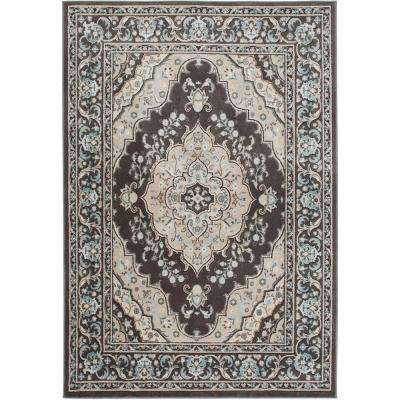 Gray Home Dynamix 6 X 9 Area Rugs Rugs The Home Depot