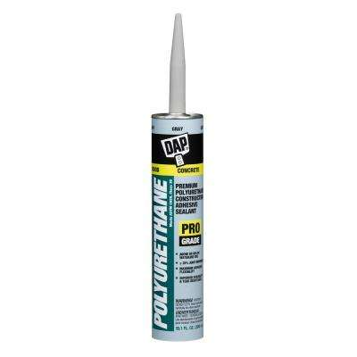 Polyurethane 10.1 oz. Gray Premium Construction Adhesive Sealant (12-Pack)