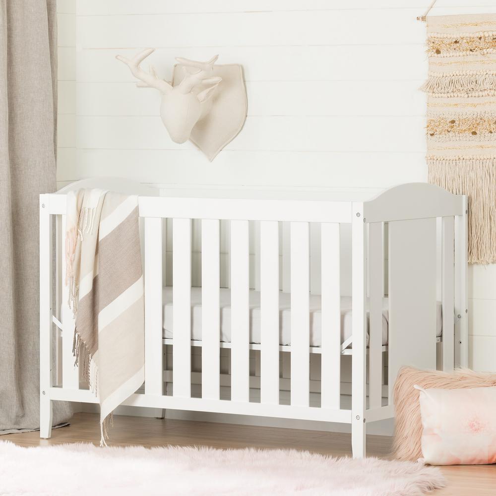 Angel Pure White Crib