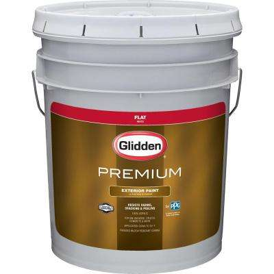 5 gal. Flat Latex Exterior Paint