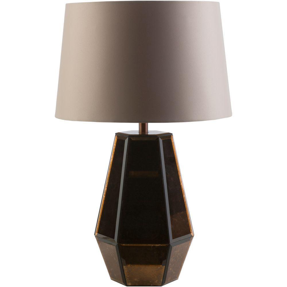 Ruska 23.25 in. Copper Indoor Table Lamp