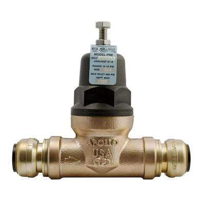 3/4 in. Bronze 36ELF Push-to-Connect Water Pressure Regulator