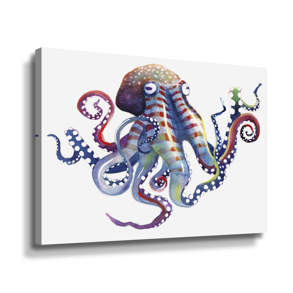 'Octopus' by  Sam nagel Canvas Wall Art