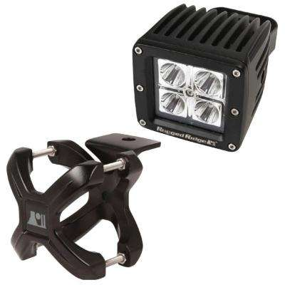 2.25 in. to 3 in. X-Clamp Light Mount and 3 in. Square LED Light Kit